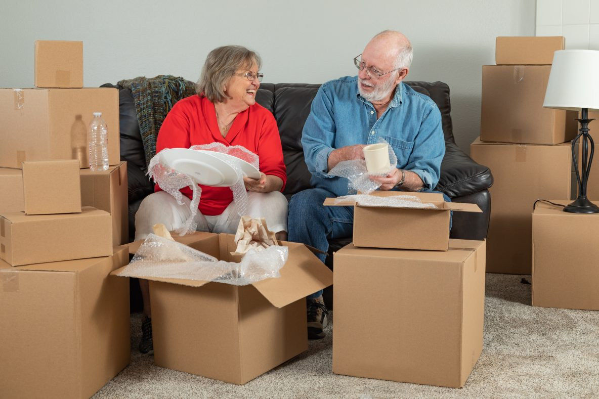 Make the Decision to Declutter the home
